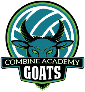 Combine Academy GOATS Volleyball Logo