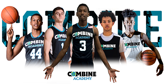 Combine Academy Basketball Players