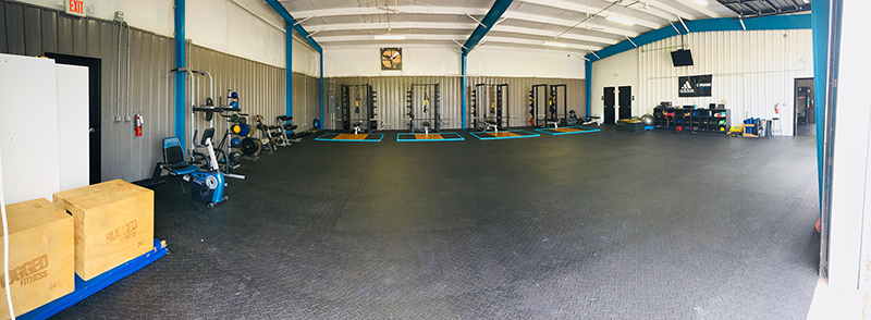 Combine Academy Weight Room