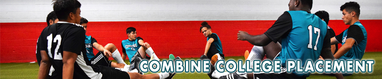 Combine Academy College Placement Soccer Header