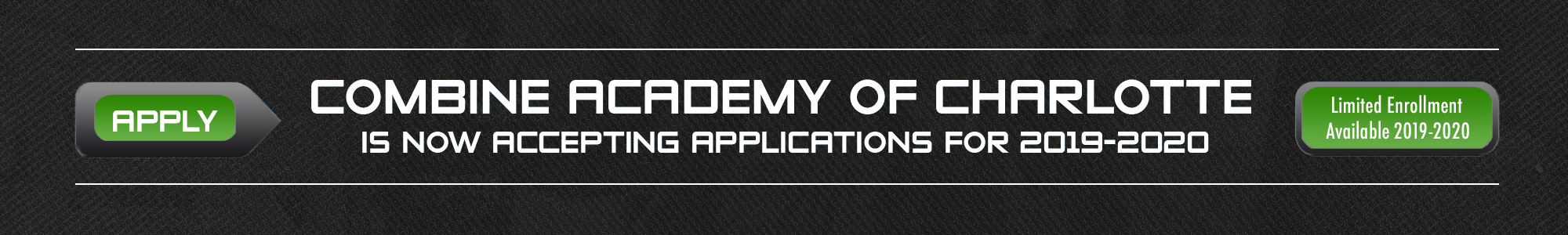 Combine Academy Banner Apply Now