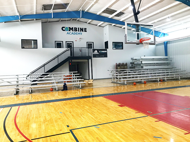 Combine Academy Gym Inside