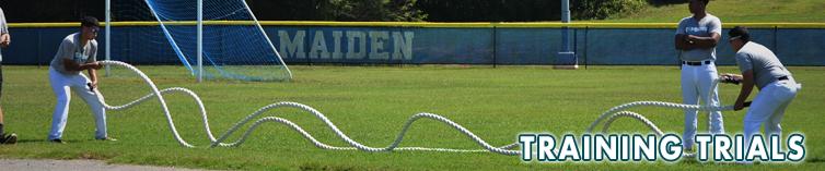 Combine Academy Training Trials Baseball Header