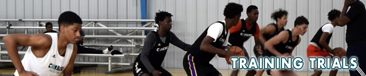 Combine Academy Training Trials Basketball Header