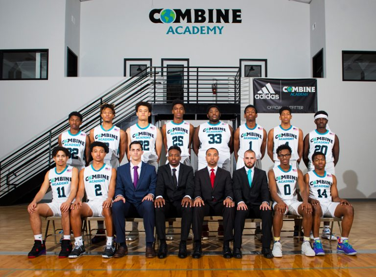 Combine Academy Boy's Basketball Team