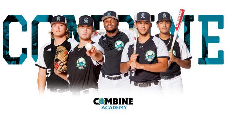 Combine Academy Baseball Players