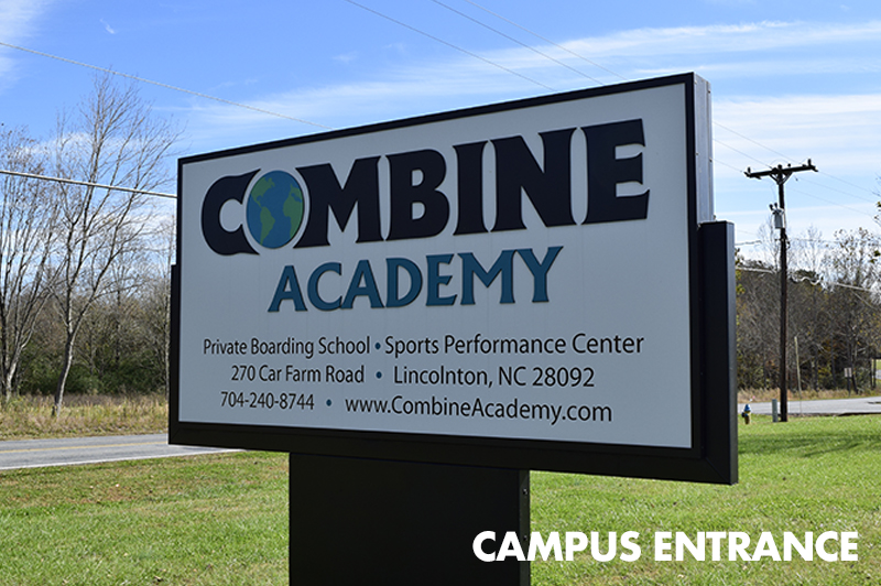 Combine Academy Campus Entrance