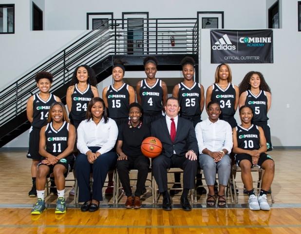 Combine Academy Women's Basketball Team