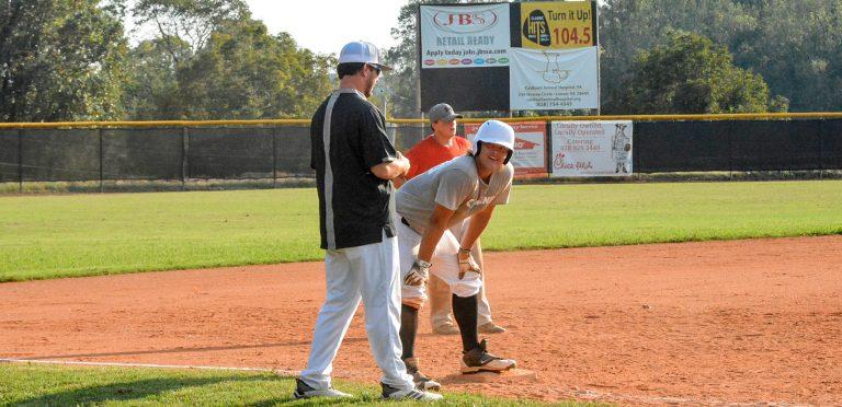 Combine Academy Baseball Game