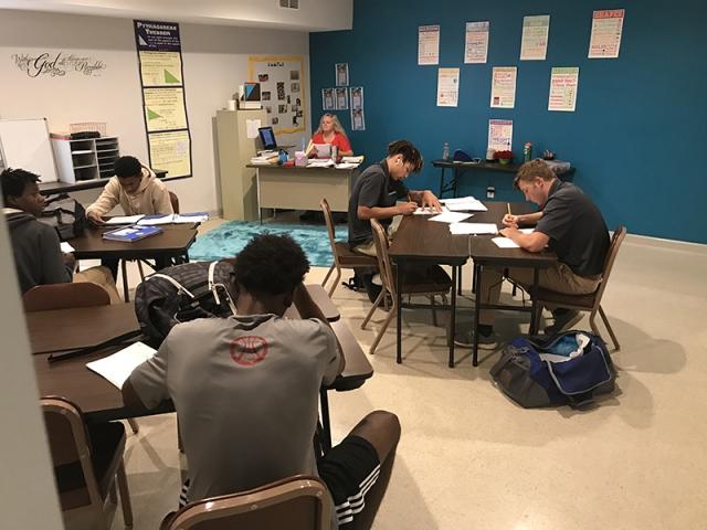 Combine Academy Classroom
