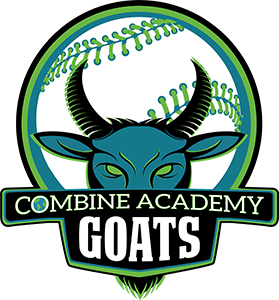Combine Academy GOATS Baseball Logo
