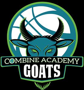 Combine Academy GOATS Basketball Logo