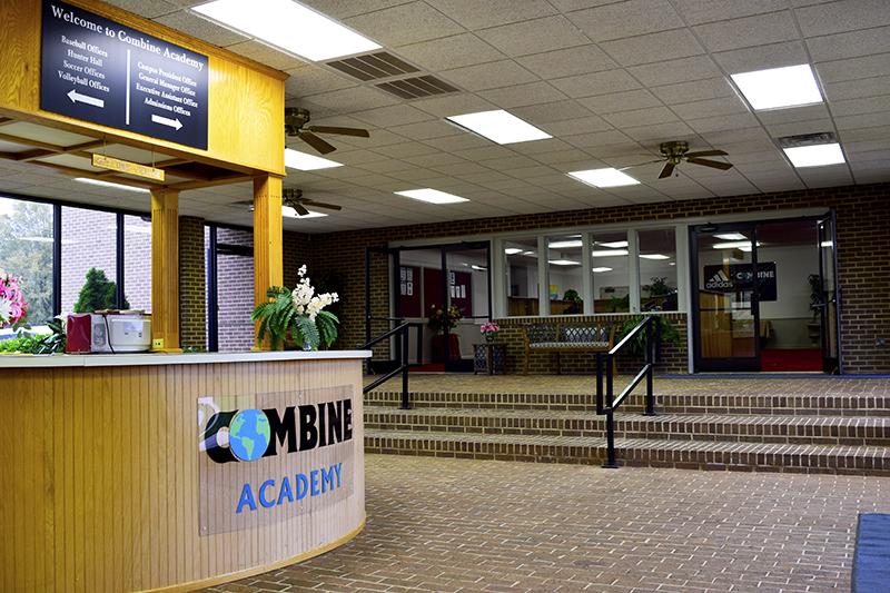 Combine Academy Foyer