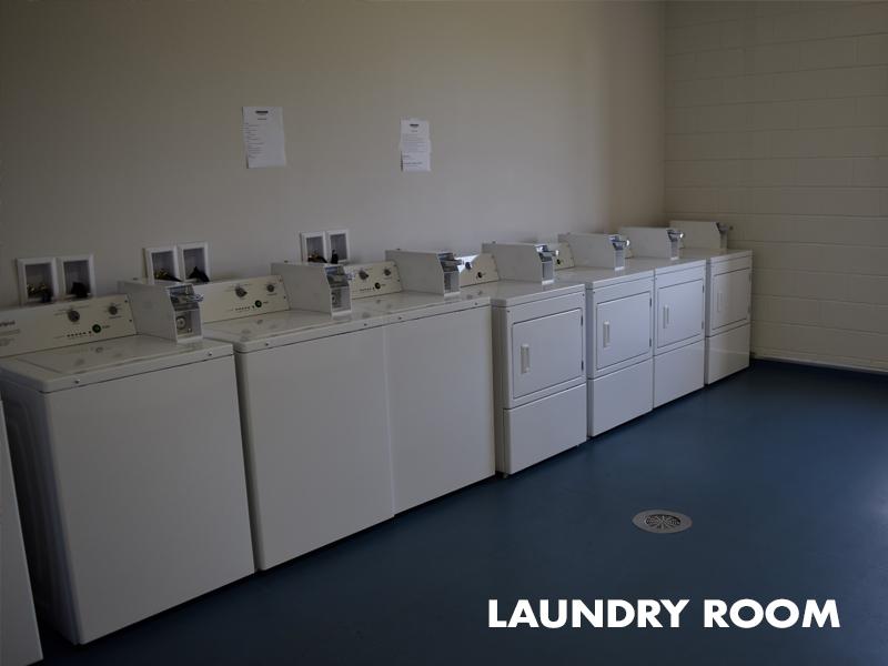 Combine Academy Laundry Room