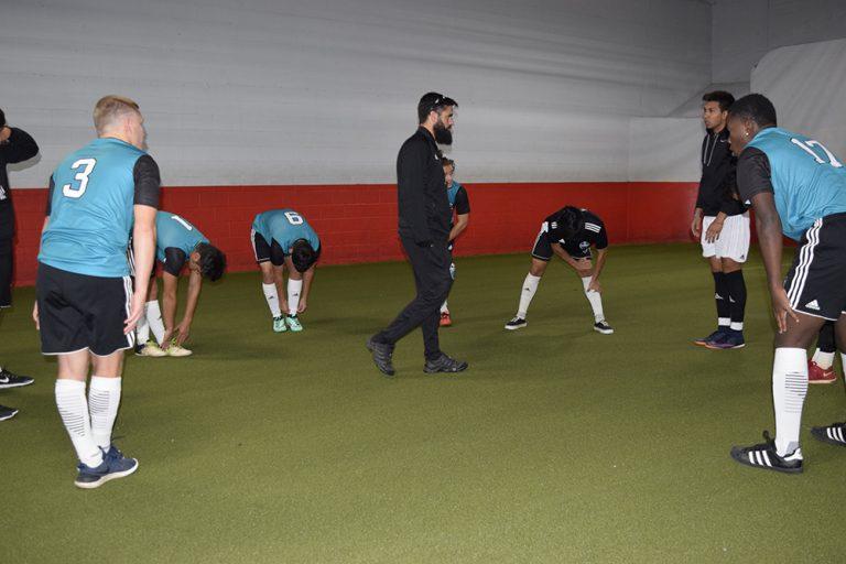 Combine Academy Indoory Soccer Training
