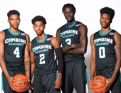 Combine Academy Basketball Player Development Header