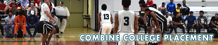 Combine Academy College Placement Basketball Header