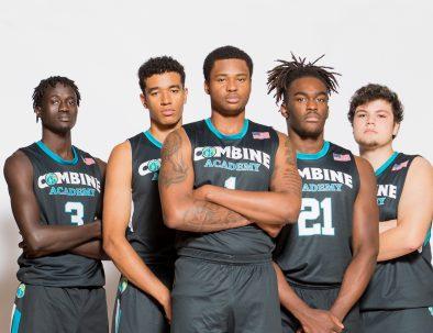 Combine Academy Men's Basketball Header