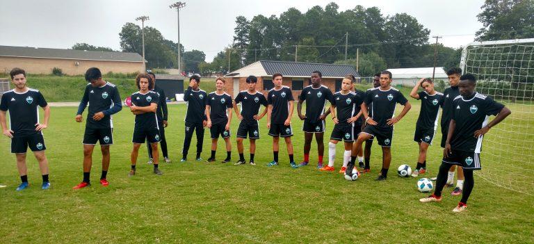 Combine Academy Soccer Training Trials Header