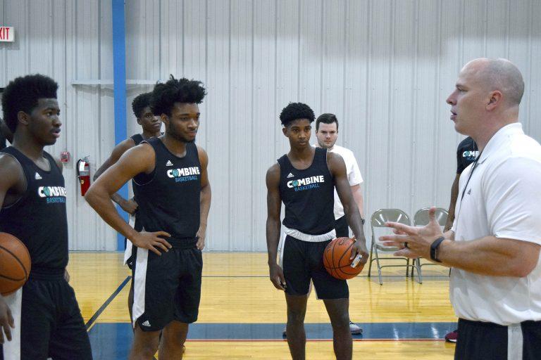 Combine Academy Basketball Training Trials Header