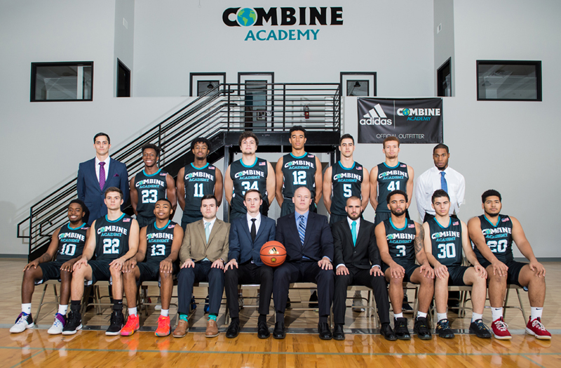 Combine Academy Men's Basketball Team
