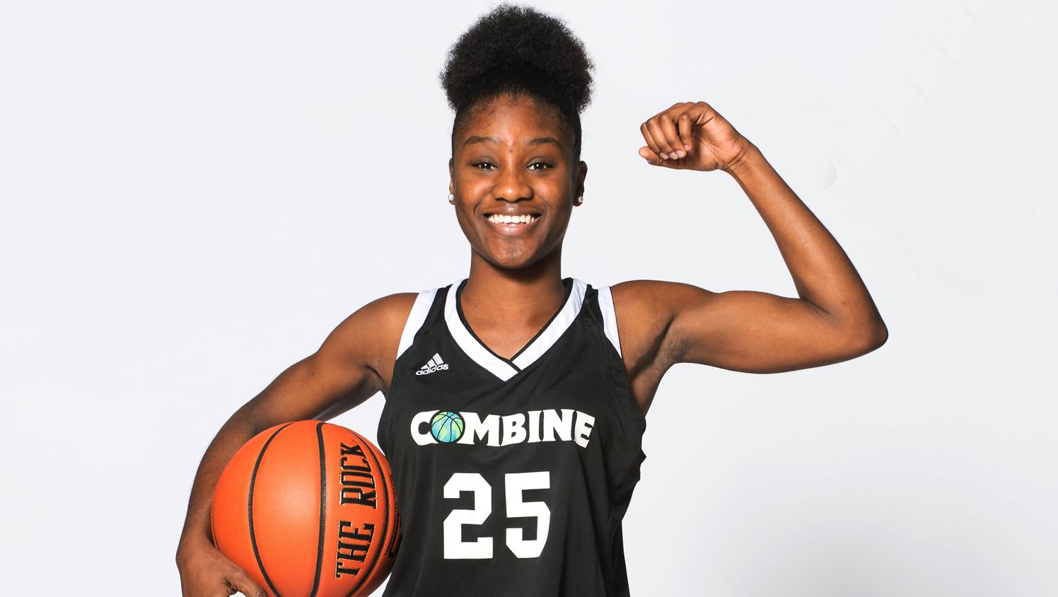 Combine Academy Girls High School Basketball Header