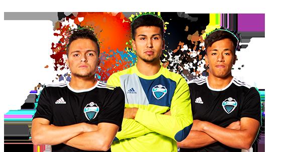 Combine Academy Men's Soccer Header