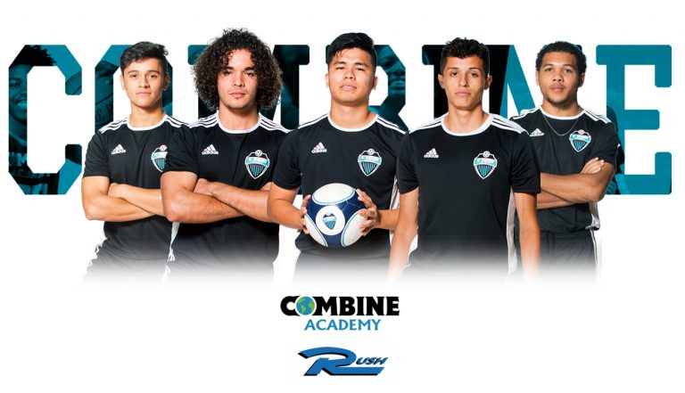 Combine Rush Soccer Graphic
