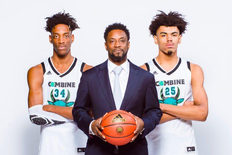 Combine Academy High School Basketball Jeff McInnis