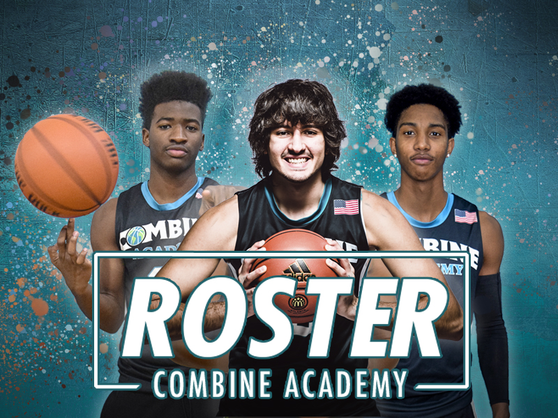 Combine Academy Basketball Roster Banner
