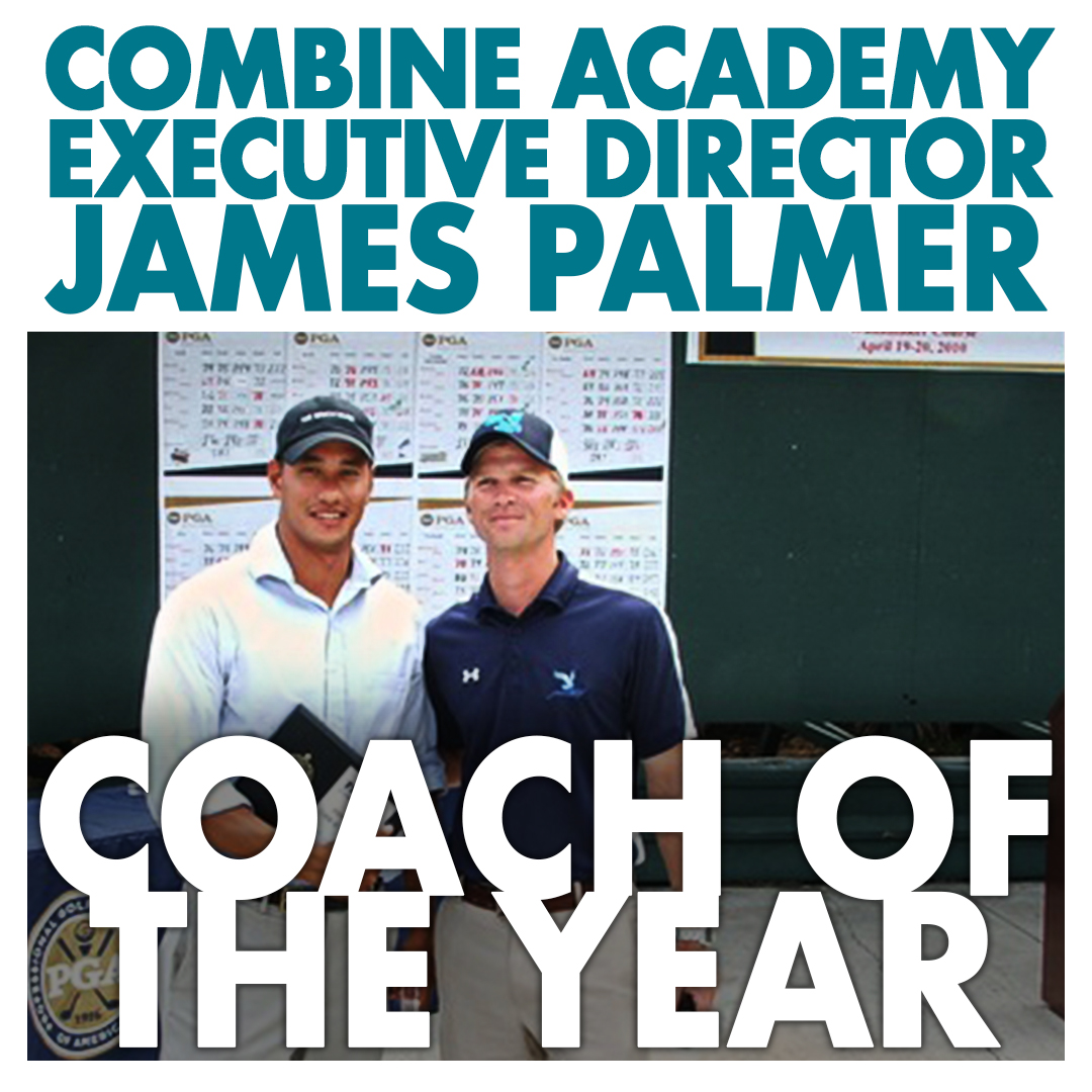 James Palmer Golf Coach of the Year