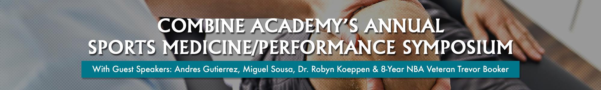 Sports Medicine Performance Symposium Banner