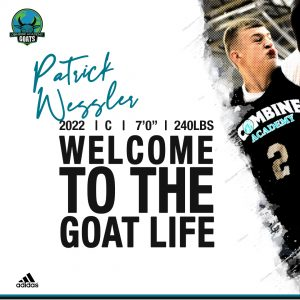Patrick Wessler Commits to Combine Academy Basketball